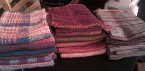 towels washed and dried